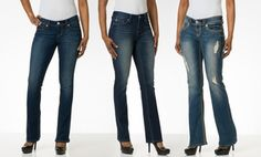 Groupon - Seven7 Spring Bootcut Jeans in [missing {{location}} value]. Groupon deal price: $34.99