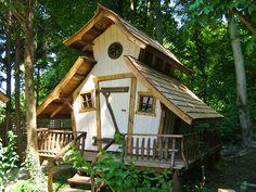 Casa Kaiensis märchenhafte Holzhäuser, Gartenhäuser und Spielhäuser