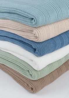 Horizon Pure Cotton Throws in a variety of colors