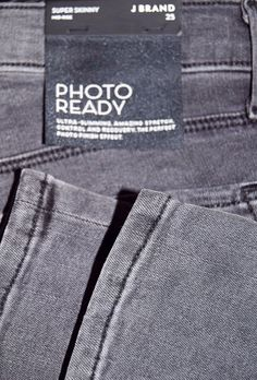 J Brand Photo Ready Grey Jeans via Alter. Click on the image to see more!