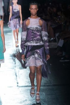Prabal Gurung Spring 2015 Ready-to-Wear - Collection - Gallery - Look 1 - Style.com