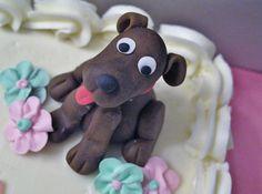 Daphne Fondant Dog, Dog Bakery, Cake Toppings, Let Them Eat Cake, Allrecipes, Gingerbread Cookies, Cake Ideas, Frosting, Birthday Cake