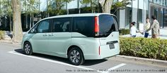Honda Stepwagon Honda SENSING(FF)ボディカラーはミルクグラス・パール メーカーオプション装着車