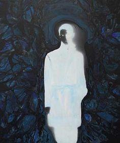 Cosima Hawemann, No5 (negativ), 2016, acrylic on canvas, 95 x 80 cm