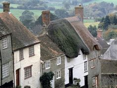 Gold Hill, Shaftesbury, England - Pixdaus