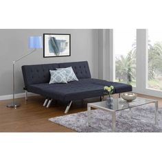 How to Make Your Own Cheap Sectional Sofa from a Convertible Futon