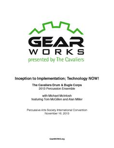 Inception to Implementation: Technology Now by Drum Corps International - issuu