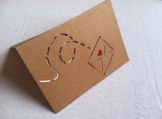 Love Letter Card by repeteLove on Etsy, $4.00