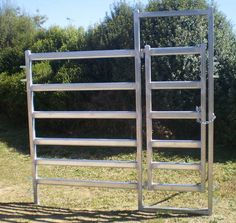 Australian made cattle panels, gates and yard components.