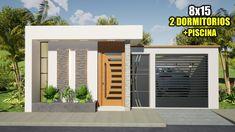 Model House Plan, Tiny House Plans, Circle House, House Outside Design, 2 Storey House Design, House Construction Plan, Modern Bungalow House, Unique House Design, Dream House Interior