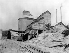 Ajax Mine, Victor, Colorado, Cripple Creek Mining District.