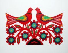 #Wycinanki: #Polish #papercut #art