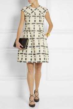 Fendi Checked tweed dress NET-A-PORTER.COM