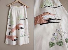 woodland fox skirt   allen company, via Flickr.
