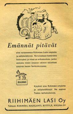 Riihimäki Glass Ad.