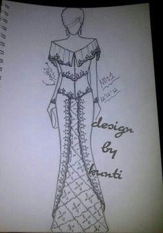 37 Trendy Ideas For Fashion Ilustration Sketches Dresses Men Fashion Logo Design, Fashion Design Sketches, Kebaya Modern Dress, T Shirt Sewing Pattern, Fashion Desinger, Chic Summer Style, Batik Pattern, Fashion Photography Inspiration, Embroidery Fashion
