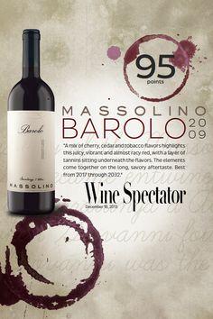 #Massolino Barolo 2009 - 95 points - #Wine Spectator