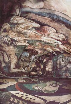Mural del mexicano David Siqueiros realizado en el sótano de la quinta Los Granados en Don Torcuato, Provincia de Buenos Aires, en 1933 a pedido de Natalio Botana, dueño del diario Crítica. Actualmente se encuentra en el Museo del Bicentenario, frente a la Casa Rosada de Buenos Aires, Argentina.