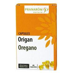 Origan de PRANAROM, des huiles essentielles en capsule !