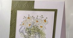 I really enjoy making little scenes with these tiny Art Impression stamps. The embossing folder is Tied Together from Couture Creations, ...
