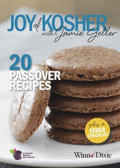 View, Download, Save our Free 20 Passover Recipe Ebook