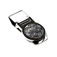Celtic Money Clip  Gift for Men  Wallets  Anniversary by Mancornas