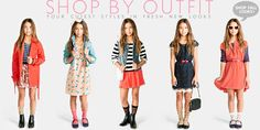Junior Girls clothing, kids clothes, kids clothing | Forever 21  How adorable are these for a 6th grade girl!!! LOVING IT!
