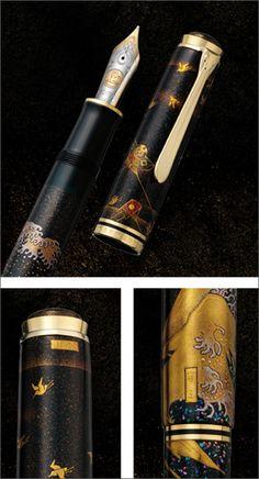Pelikan Maki-e Seaside Limited Edition Fountain Pen By Dan Smith On March 18, 2014