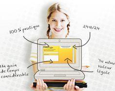 Boutique du courrier : envoyer une lettre recommandée par internet - Lettre Recommandée en ligne
