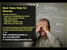 Kearney   Back Taxes Canada.ca   416-626-2727   taxes@garybooth.com   CRA Audit, Tax Returns