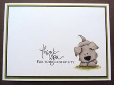 ThankyouCard. I'd love to start making my own again! :)