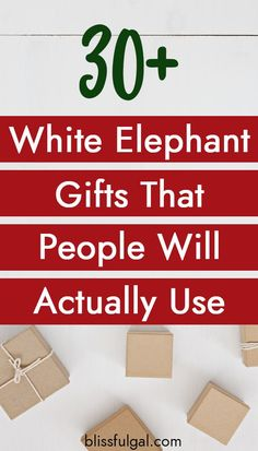 These creative white elephant gifts everyone will fight for are perfect for your next gift exchange! These are White Elephant gifts that you can actually use because who wants to get a present they can't ever use? White Elephant Game, Best White Elephant Gifts, Elephant Party, Unisex Christmas Gifts, Unisex Gifts, Family Christmas Gifts, Homemade Christmas, Christmas Time, Merry Christmas