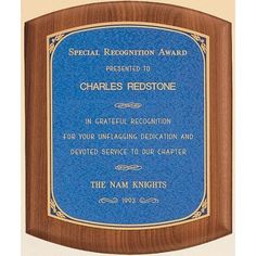 Reward a job well done with this standout plaque! A classy wooden design, this Walnut plaque with linen textured plate is an awesome way for you to say thanks!