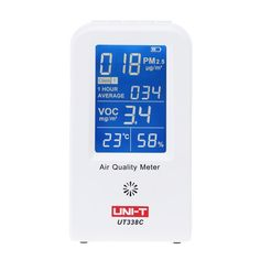 UNI-T High Precision Air Quality Detector Indoor VOC PM2.5 Data Logger Detector Air Monitor Thermometer Hygrometer Gas Analyzers #Affiliate