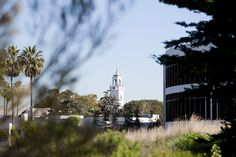 The campus of Loyola Marymount University.