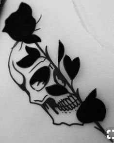 Our Website is the greatest collection of tattoos designs and artists. Find Inspirations for your next Skull Tattoo. Search for more Tattoos. Stencils Tatuagem, Tattoo Stencils, Piercing Tattoo, Piercings, Skull Tattoos, Body Art Tattoos, Tatoos, Small Skull Tattoo, Skeleton Tattoos