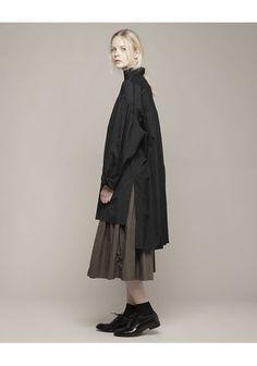 Yohji Yamamoto | Smock Shirt | La Garçonne