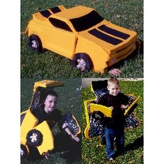 Transforming Car Costume | Holidays | Disney Family.com- this year's costume for J?