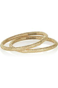 Carolina Bucci Set of two 18-karat gold rings NET-A-PORTER.COM