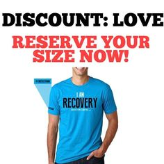 """DISCOUNT CODE """"LOVE"""" --> RESERVE YOUR SIZE OR MISS OUT! Substanceforyou.com or click link in our bio to buy now! - - #recoveryispossible  #sober #sobriety #sobermovement #Soberissexy #partysober #recovery #addictiontreatment #addictionrecovery #recoveryroad #alcoholicsanonymous #mentalhealth #drugfree #eatingdisorders #advocate #awareness #selfhelp #book #books #reading #author #story #awareness #clean #cleanlife"""