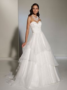 Designer Wedding Dresses by Sophia Tolli  |  Wedding Dresses  |  style #Y11205 - Generosa
