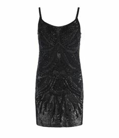 Stunning New All Saints EAGLE Black Sequin Dress UK 12 Christmas Party NYE #shotofsteam #ebay #allsaints