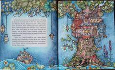 "Gefällt 6 Mal, 1 Kommentare - Adriana Espadoto (@adrianaespadoto) auf Instagram: ""Ivy and the Inky Butterfly...#ivyandtheinkybutterfly #johannabasford #coloriage…"""
