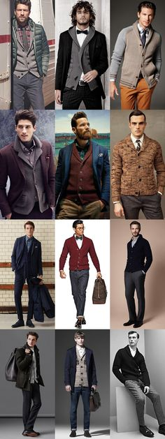 Here are some additional looks featuring cardigans. The chunky knits are especially great in fall/winter.