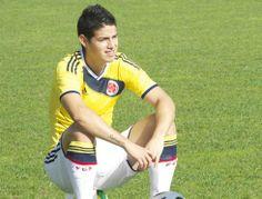 JAMES RODRIGUEZ, you're sooooo cute