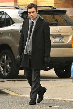 Ed Westwick Style, Fashion & Looks Suit Fashion, Work Fashion, Fashion Looks, Mens Fashion, Style Fashion, Gossip Girl Outfits, Gossip Girl Fashion, Gossip Girls, Chuck Bass Ed Westwick