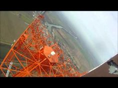 ▶ Stairway to Safety - Climbing to the top of a 1700 foot tall tower to change a light bulb - YouTube