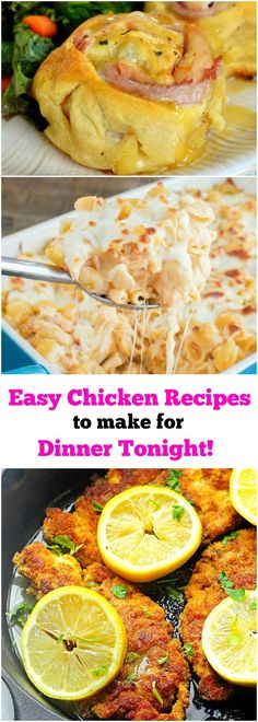 Super Easy Chicken Recipes to Make for Dinner Tonight