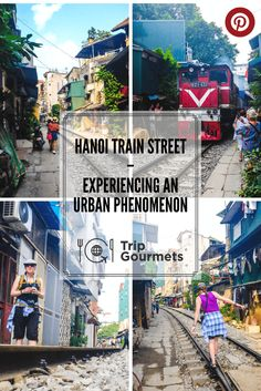 Have you ever heard about the Hanoi Train Street? Would you like to experience this urban phenomenon yourself but you don't know where to find it? Then read our post about the Hanoi Train Street in Vietnam. PS.: We also show you where it is on a map! #hanoi #trainstreet