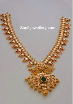 mor jewellers mango necklace